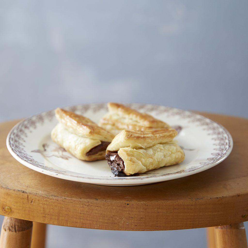 トースターで簡単!板チョコを巻いて焼くだけ「チョコクロワッサン」 by:まきあやこ/Perch.
