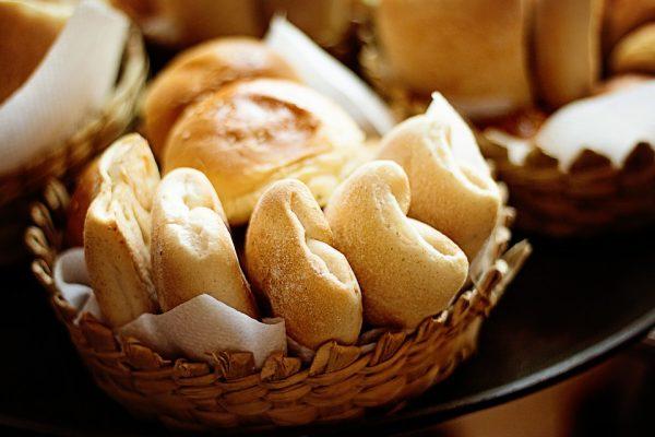 グルテンたっぷりのパン