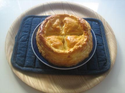 冷凍パイ生地を使って簡単に作ったアップルパイ by:tonさん
