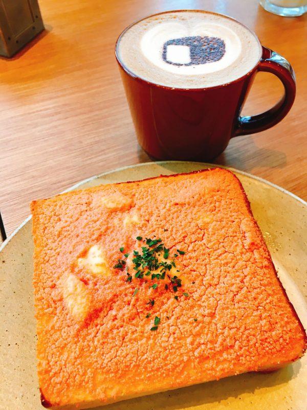 むつか堂の博多明太子トースト