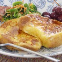 前日に浸して朝は焼くだけ!魅惑の「フレンチトースト」レシピ5選