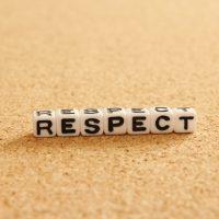 英語の「respect(リスペクト)」の意味って?
