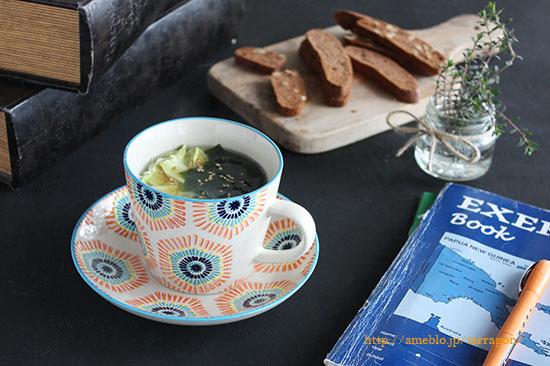 朝5分で満腹♪春雨とわかめの具だくさんマグカップスープ by:タラゴン(奥津純子)さん