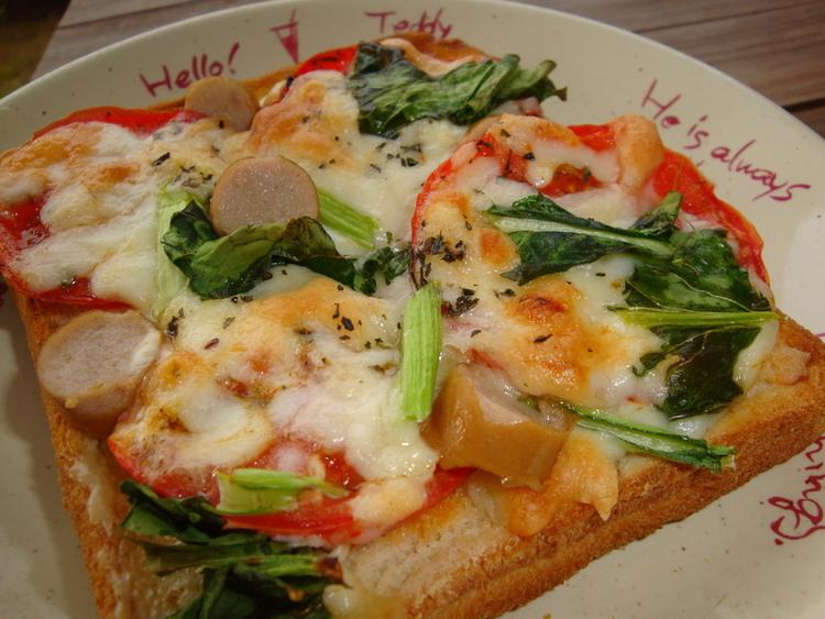 *スパイストマトのオープントースト* by:happyspiceさん