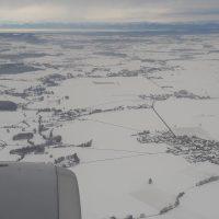 ミュンヘンは雪景色