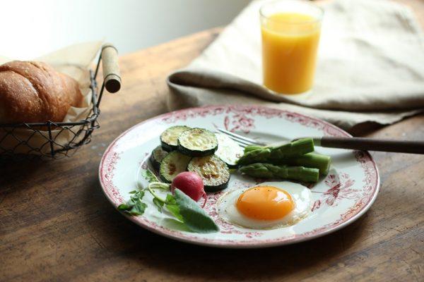 朝ごはんの目玉焼き