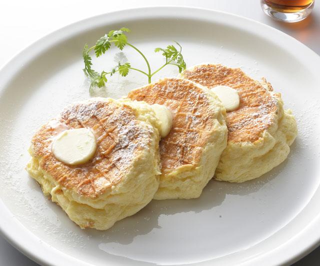 東京・自由が丘 ラテ専門店「LATTE BEANS & ROASTERS」のパンケーキ