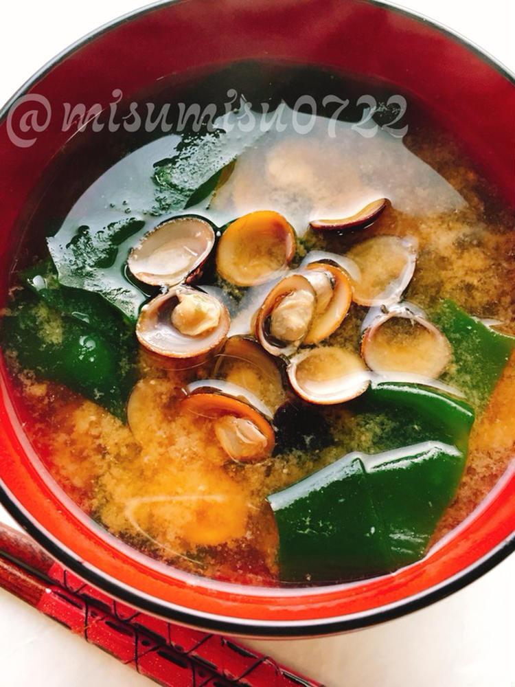 しじみのお味噌汁 by:Misuzuさん