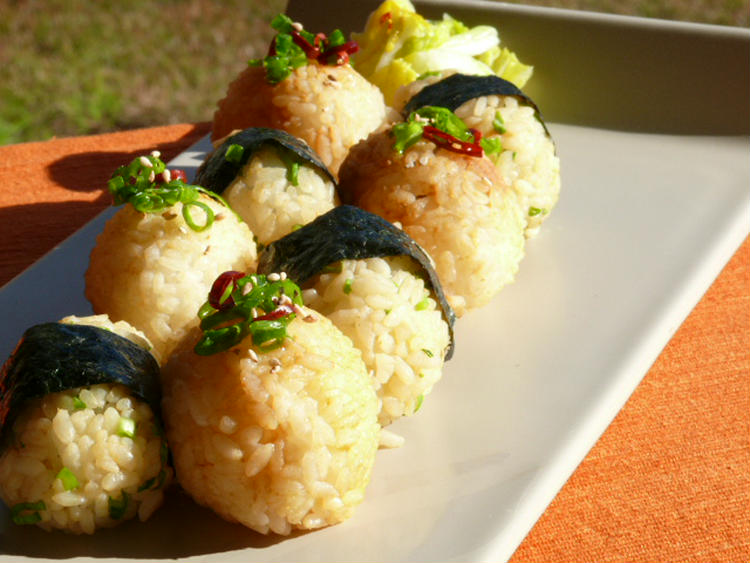 懐かしの味(*゚∀゚)美味しい味噌にぎり by:モーちゃんさん