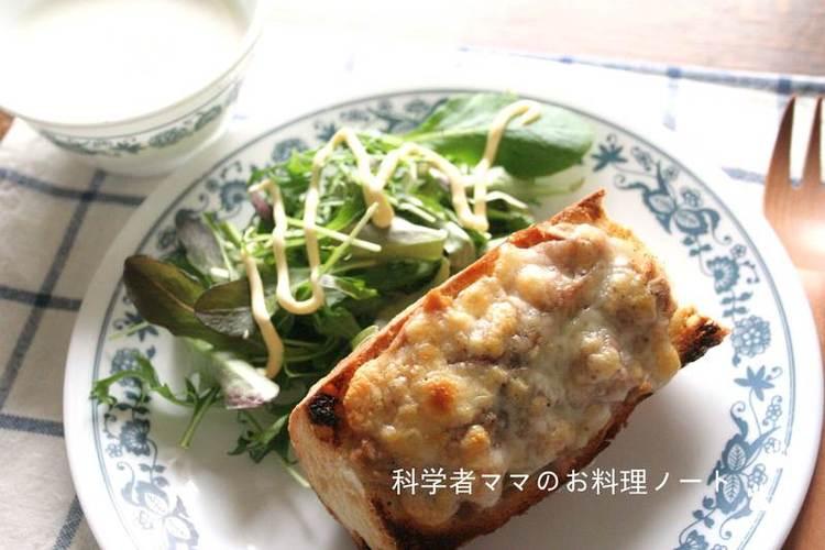 海苔ツナチーズトースト by:nickyさん