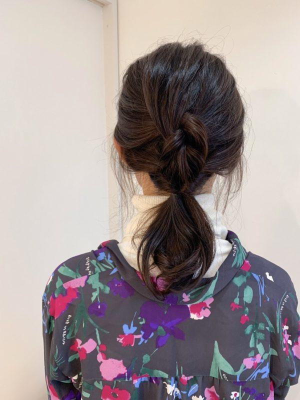 伸ばしかけヘアでも簡単かわいい♪ゆるふわヘアアレンジ術