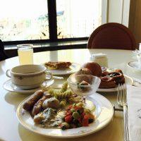 目の前のディズニーシーの景色にうっとり☆料理も絶品♪ ホテル朝食☆【ホテル ミラコスタ】