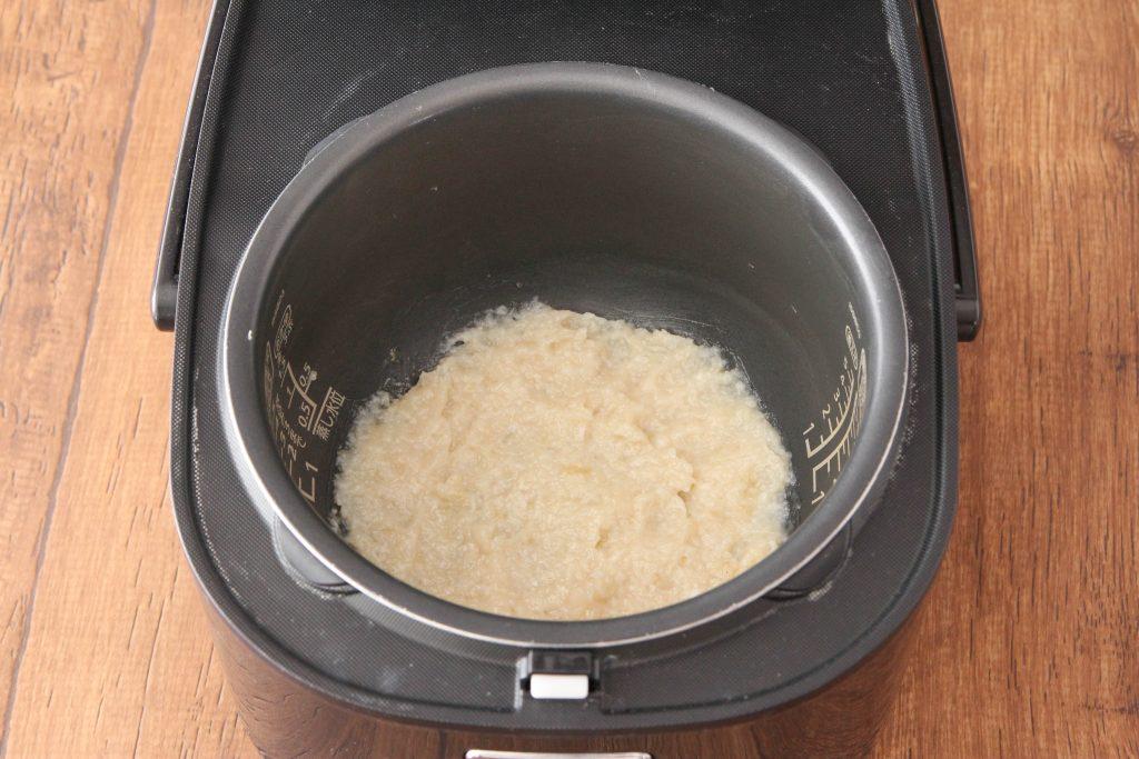 炊飯器で作る自家製甘酒
