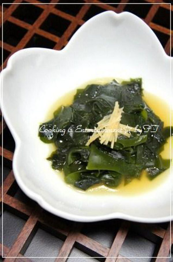 新☆わかめの 中華炒め by:food townさん