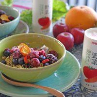 栄養も美味しさもまるごと楽しむ♪5分でできる朝ごはん
