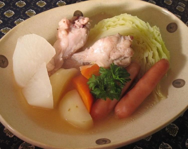 炊飯器で!生姜風味でぽかぽかポトフ ルシッカさん