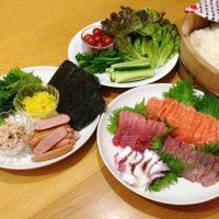 「手巻き寿司」は何と言う?マイナーな日本食の英語表現3つ