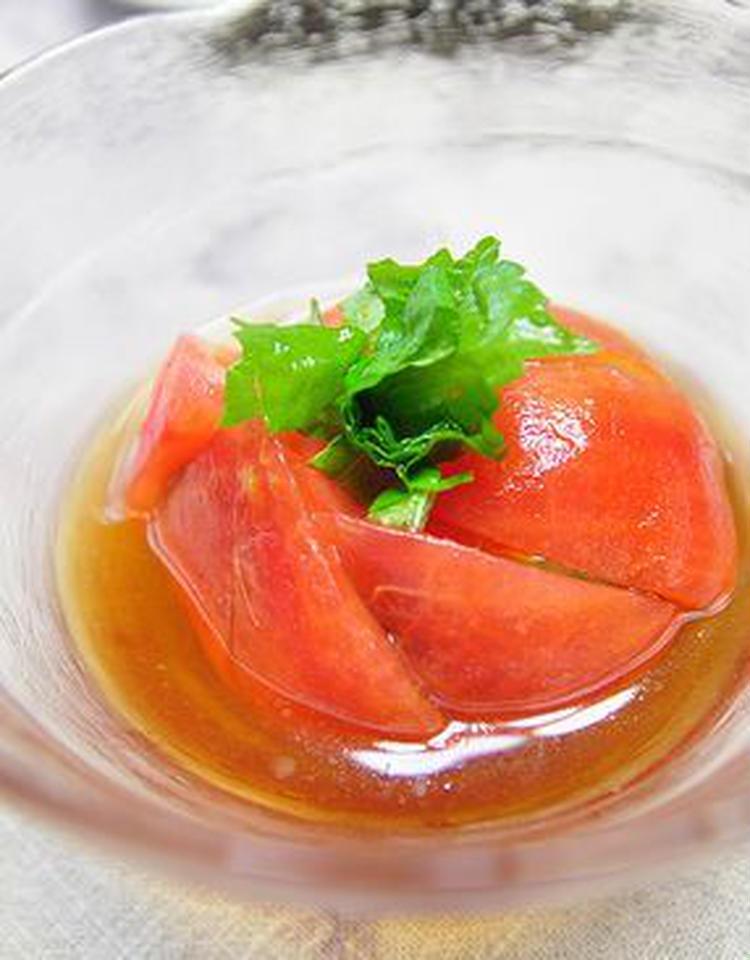 トマトのおひたし by:月草さん