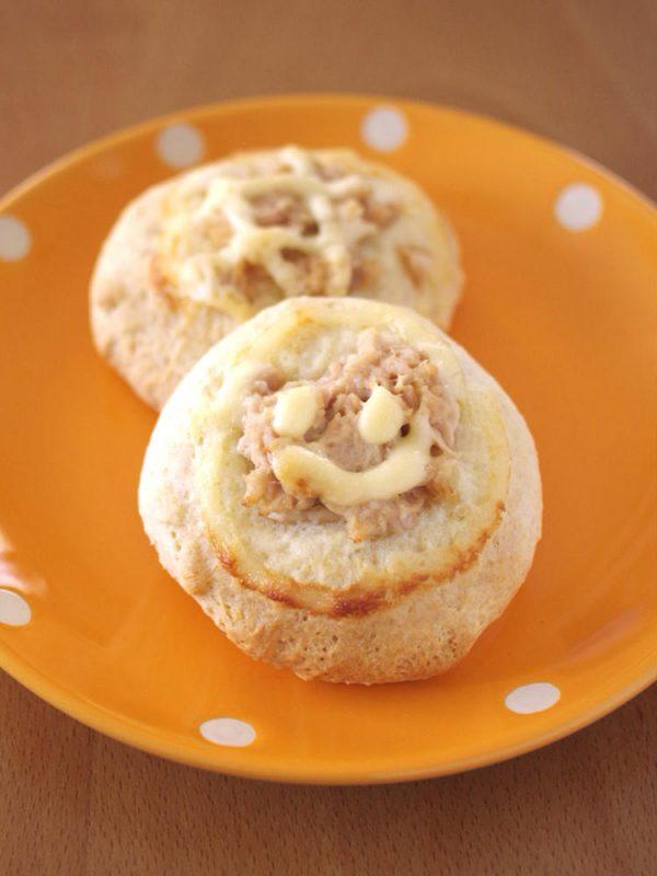 ホットケーキミックスでつくる、簡単シーチキンパン☆おかずパン・朝食に by:めろんぱんママさん