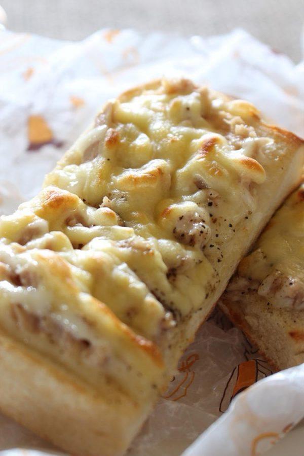 <ツナメルトサンドイッチ> by:はーい♪にゃん太のママさん