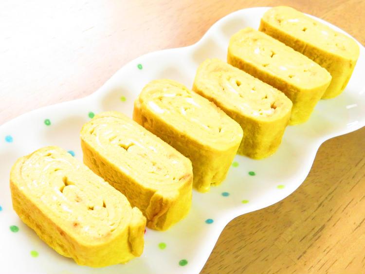 (豆乳の出汁巻き卵☆お弁当にも♪by:kaana57さん)
