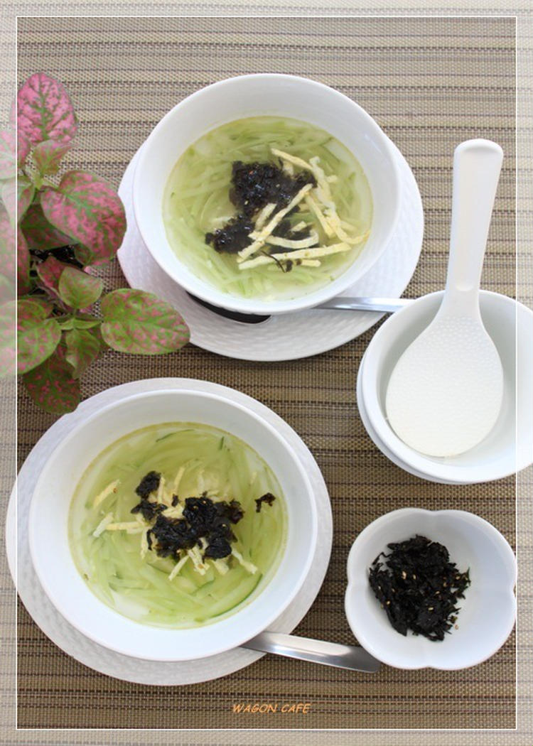 きゅうりのスープ by:hannoahさん