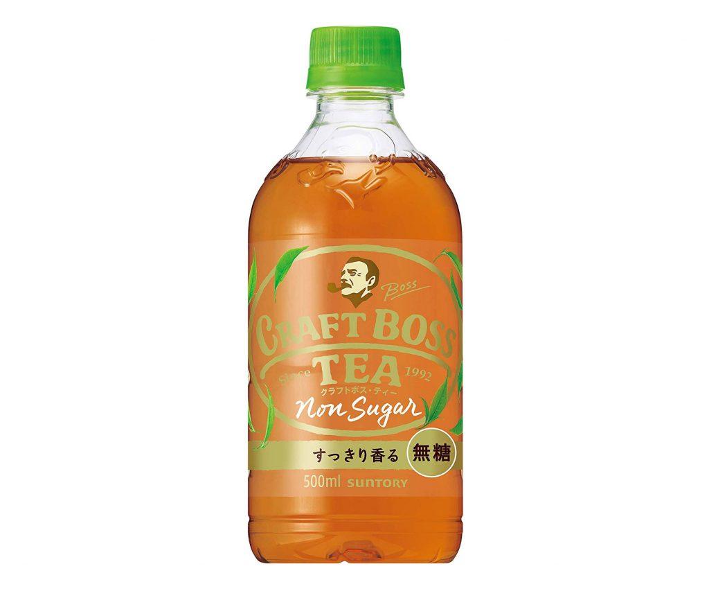 もう飲んだ?すっきり香るノンシュガー紅茶「サントリー クラフトボス・ティー」