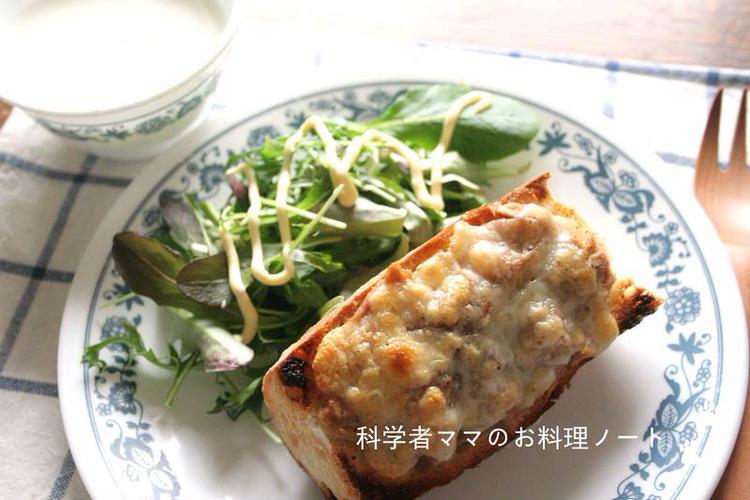 (海苔ツナチーズトースト by:nickyさん)