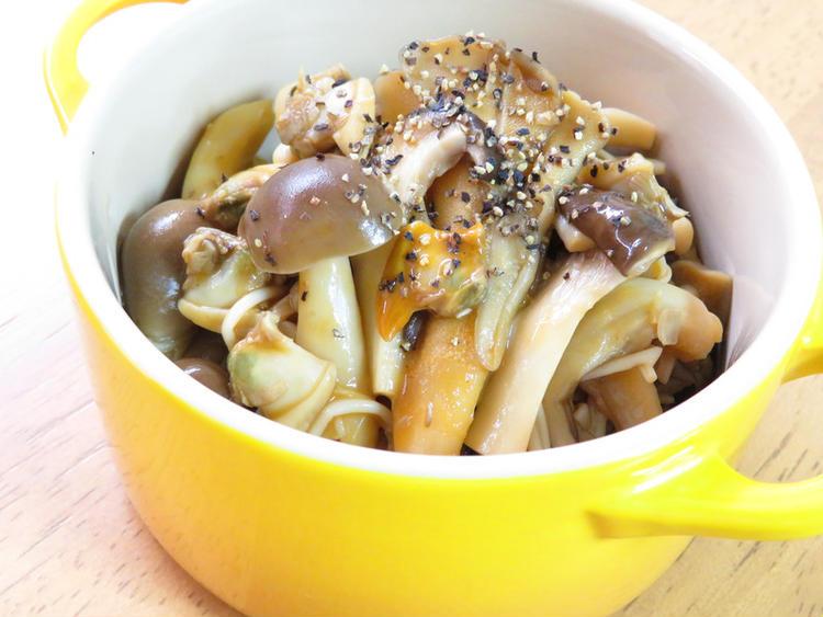 野菜ジュースで☆きのこのボンゴレマリネ bykaana57さん