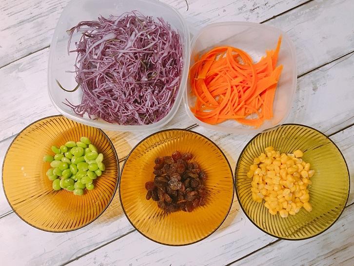 紫キャベツの美肌美白サラダ☆