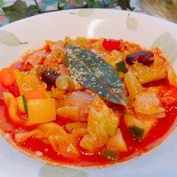 ダイエットにも美白にもおすすめ!トマトジュースで簡単「ミネストローネ」