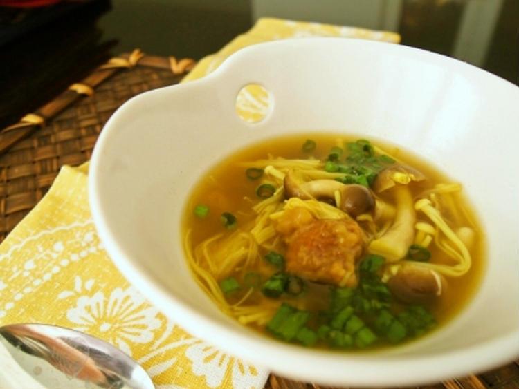 *きのこたっぷり梅カレースープ* by 清水えりさん