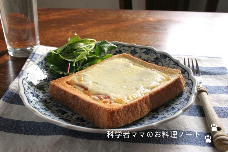 梅マヨチーズトースト by:nickyさん