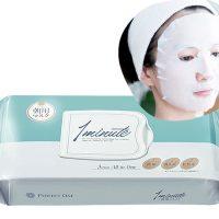 洗顔~化粧水まで1分!貼るだけの時短スキンケア「パーフェクトワン 朝用シートマスク」