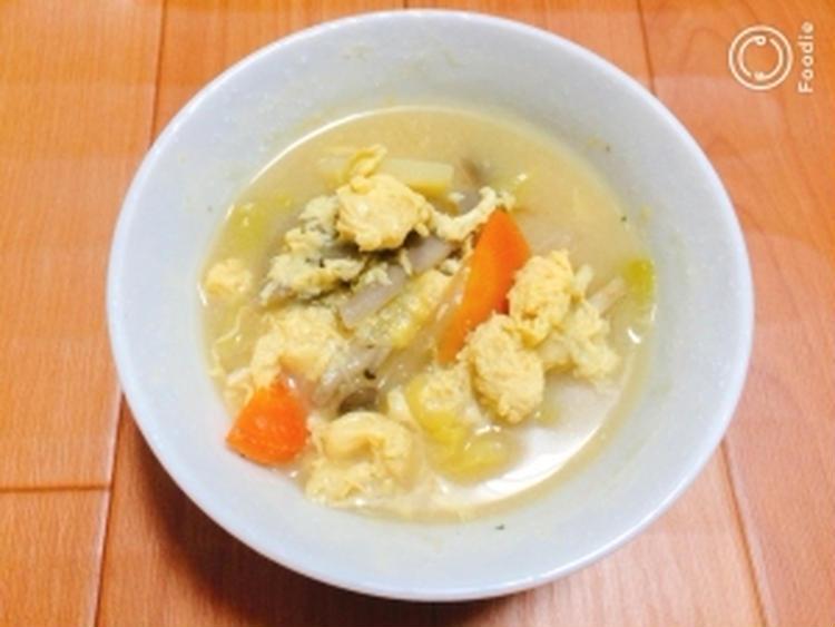 【ヘルシー】ふわふわ卵とキャベツの味噌汁藤本 あゆみ 美容料理研究家さん