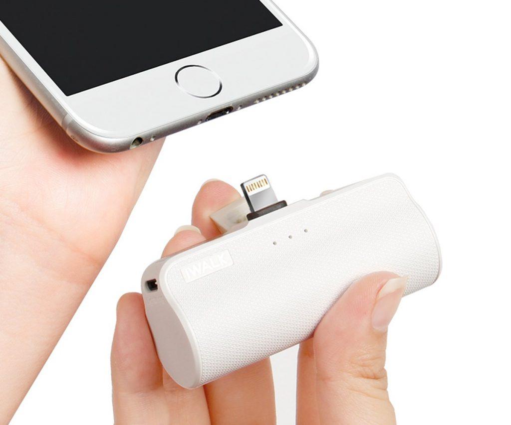 持ち運びがラク!口紅サイズの超小型「モバイルバッテリー」