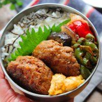 スキマ埋めに便利!簡単「ピーマンのケチャップ炒め」のお弁当