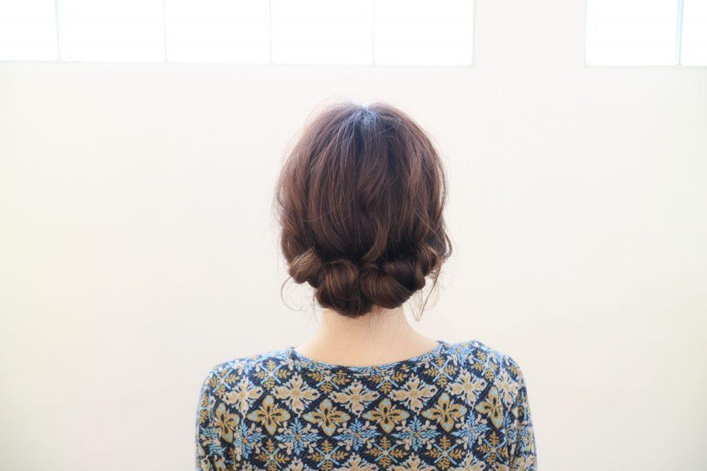 ねじって簡単!浴衣にも似合う「夏のまとめ髪」アレンジレッスン♪
