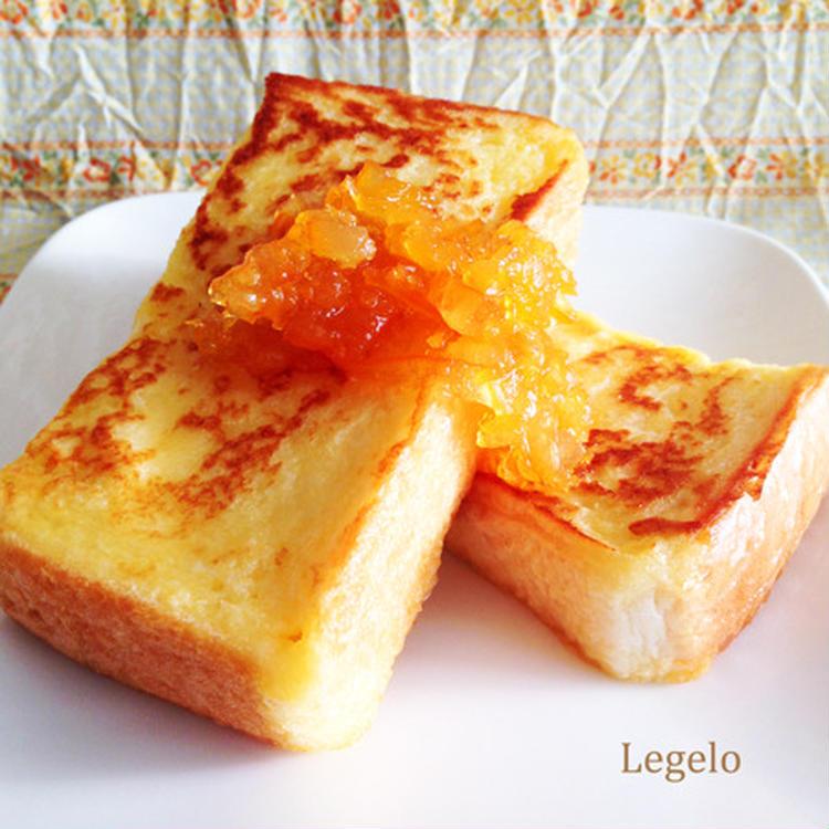 ヨーグルトでフレンチトースト☆朝ごはんに♪ by:Legeloさん