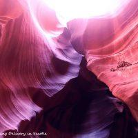自然の描く曲線美☆アンテロープキャニオンの朝