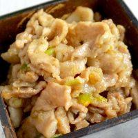 ご飯によく合う♪しびれる辛さにハマる「豚肉の花椒味噌炒め」の作り置き