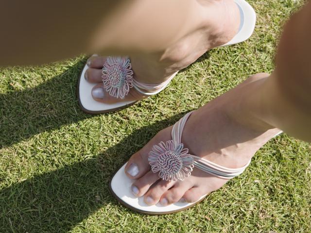 足元の紫外線対策