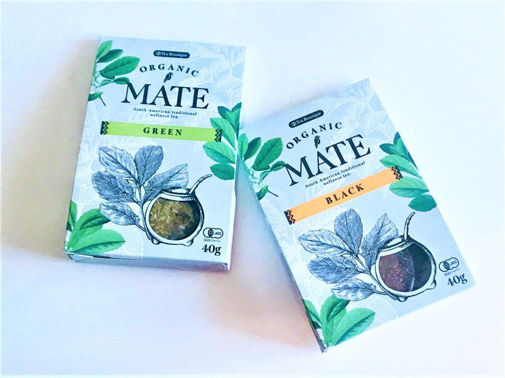 オーガニックの、グリーンマテ&ブラックマテ茶葉