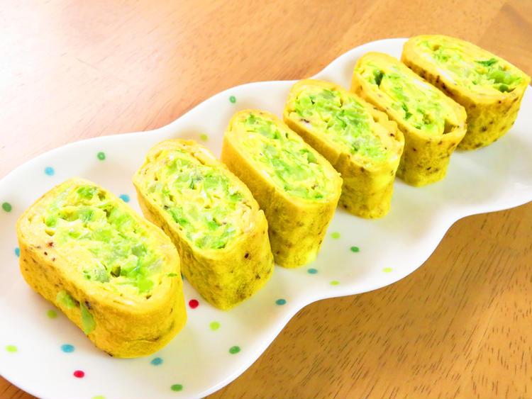 簡単☆キャベツの卵焼き♪黒胡椒風味 by:kaana57さん