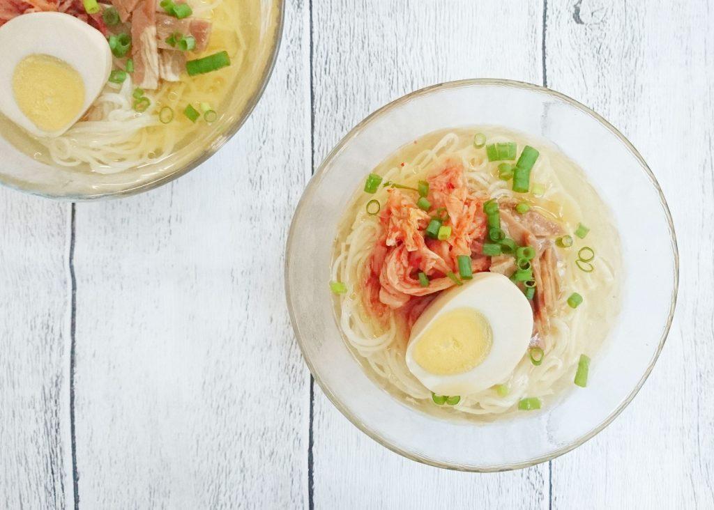 つるっと美味しい!家にある調味料でカンタン「冷麺風そうめん」 by:料理家 村山瑛子さん