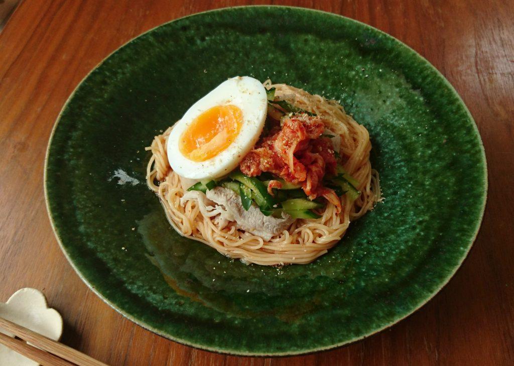 あまったそうめんをアレンジ!ピリ辛さっぱり味の「ビビン麺」 by:料理家 村山瑛子さん