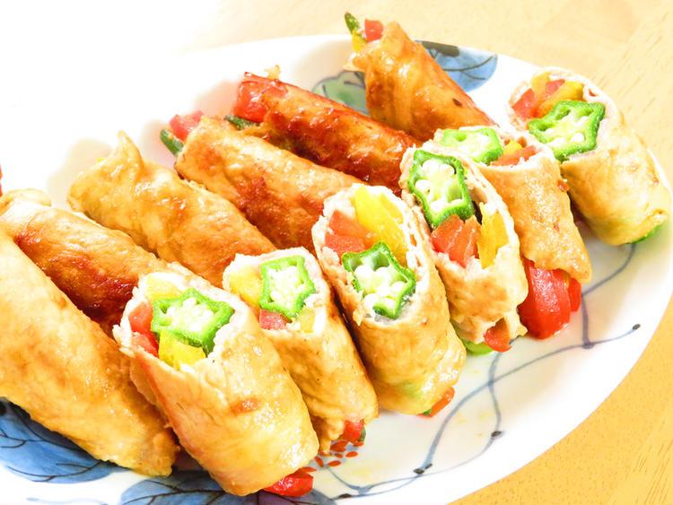 夏野菜☆オクラとパプリカの豚巻☆味噌焼き by:kaana57さん