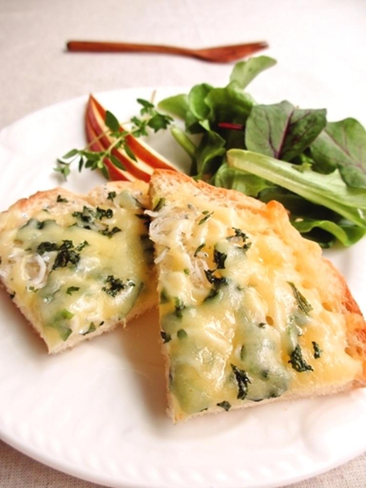 しらすと大葉のチーズトースト… by:みっこ*mikkoさん