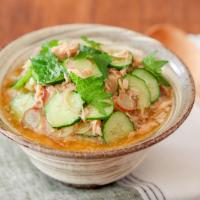 忙しい夏の朝に5分で簡単!冷や汁風「ぶっかけご飯」