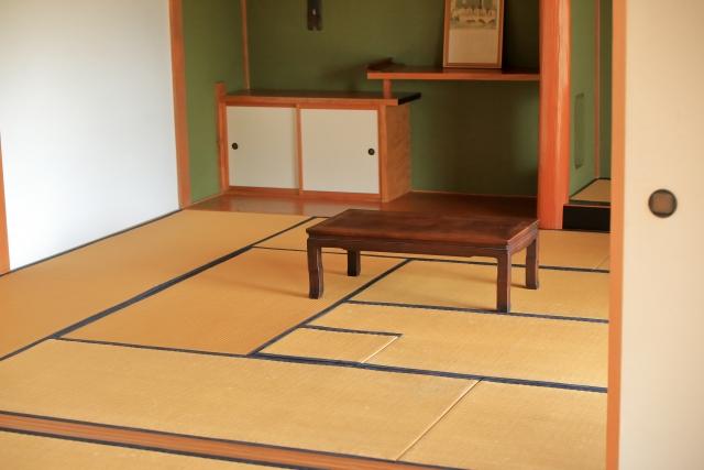床の間と戸棚